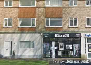 Break in at Head High hairdressers salon in Saltdean