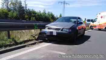 Verkehrsunfall auf der A 66 bei Eichenzell: Fünf Personen verletzt - darunter ein Kleinkind - Fuldaer Zeitung