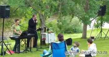 Open-Air-Gottesdienst in Bollendorf an der Sauer - Trierischer Volksfreund