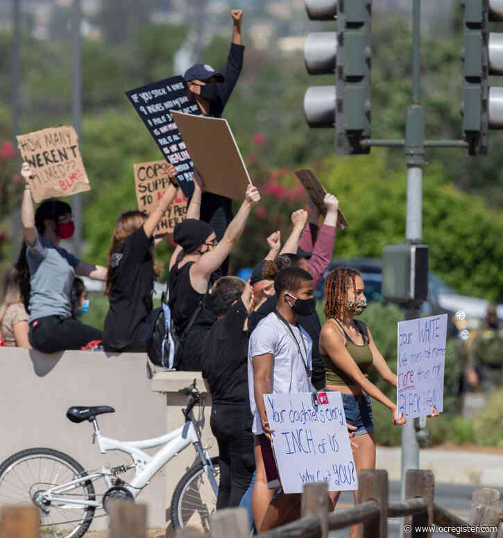 Police protests continue throughout Southern California on July 4