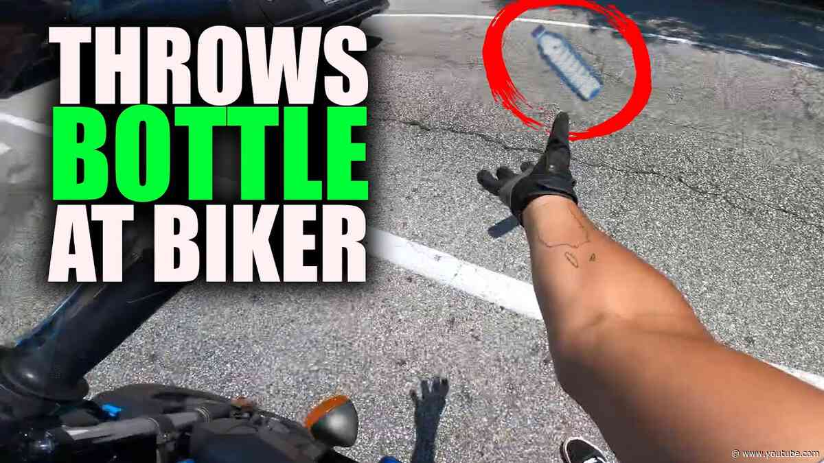 BIKERS IN TROUBLE |  STUPID, CRAZY & ANGRY PEOPLE vs BIKERS  [Ep. #466]