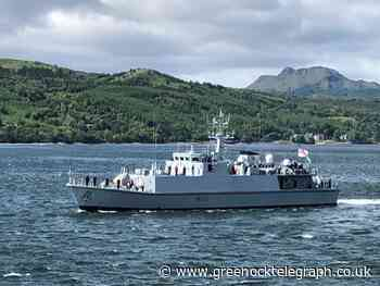 River Clyde Royal Navy ship takes up key Gulf role - Greenock Telegraph
