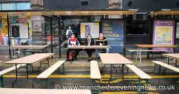 Northern Quarter streets and bus stops become pop-up beer gardens