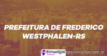 Concurso Frederico Westphalen: Divulgada convocação da... - Estratégia Concursos