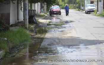 [Fotogalería] Regresa el agua a Gaviotas y con ella las fugas - El Heraldo de Tabasco