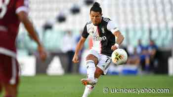 Ronaldo becomes first Juventus player in 60 years to score 25 league goals as he finally breaks free-kick duck