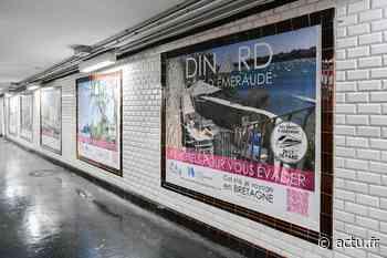 Cet été, Dinard s'affiche dans le métro parisien - actu.fr