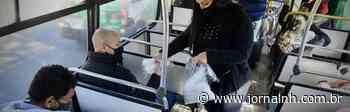Prefeitura realiza fiscalização e doação de máscaras nos ônibus hamburguenses - Jornal NH