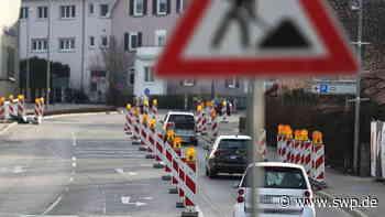 Sperrung Reutlinger Straße Metzingen: Ab 6. Juli stadteinwärts wegen Bauarbeiten gesperrt - Verkehr wird umgeleitet - SWP