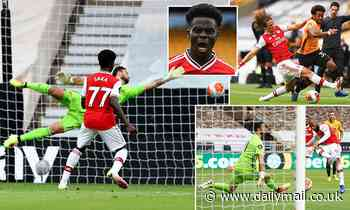 Wolves 0-2 Arsenal: Bukayo Saka and Alexandre Lacazette fire Gunners to victory