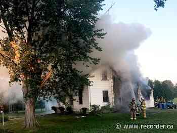 Toledo family loses home in fire - Brockville Recorder and Times
