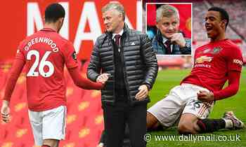 Ole Gunnar Solskjaer says Mason Greenwood is a better finisher than Wayne Rooney was at his age