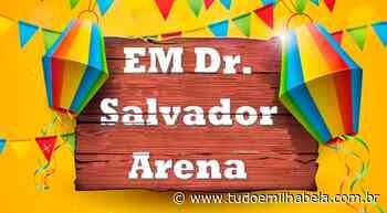 Alunos da EM Salvador Arena comemoram - Tudo Em Ilhabela - Tudo em Ilhabela