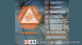 Defesa Civil alerta previsão - Tudo Em Ilhabela - Tudo em Ilhabela