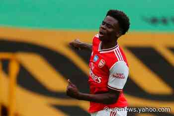 Arsenal star Bukayo Saka pays tribute to Mikel Arteta's vision after week he will remember his 'whole life'