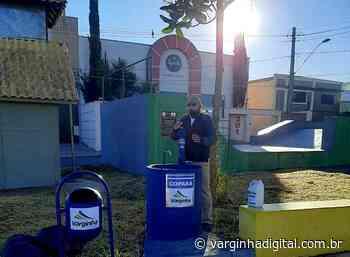 Prefeitura instala lavabos públicos em Varginha para higienização das mãos - Varginha Digital