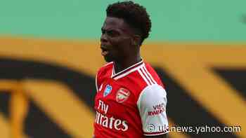 Arsenal hero Saka will never forget 'dream' week after battling Wolves win
