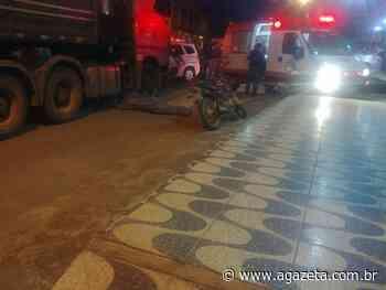 Jovem cai de moto e morre atropelado por carreta em Domingos Martins - A Gazeta ES