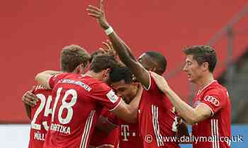 Bayer Leverkusen 2-4 Bayern Munich: Hansi Flick's side complete domestic double with German cup win