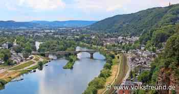 Auf der Kaiser-Wilhelm- Brücke Trier werden Fahrbahn- und Gehwege saniert. - Trierischer Volksfreund