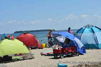 Town unveils new measures to control crowds at Innisfil Beach - BarrieToday