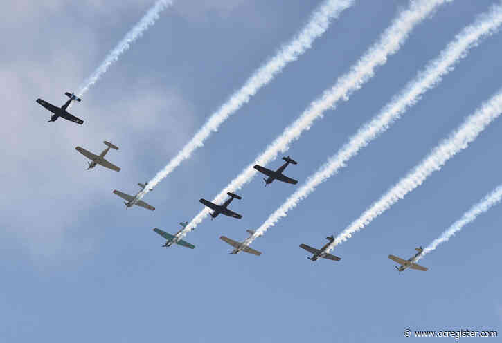 Look up starting at 2  p.m., historic planes might fly over to celebrate July 4th