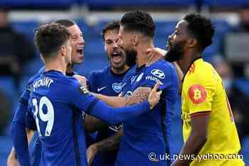 Chelsea 2-0 Watford LIVE! Latest score, goal updates, team news, TV and Premier League match stream tonight