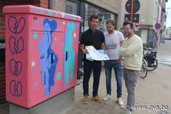 Alle streetart in de stad ontdekken? Dat kan gemakkelijk met nieuwe kaart - Gazet van Antwerpen