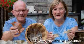 Aus Niederkassel: Ehepaar sammelt seit über 50 Jahren Steine aus dem Rhein - General-Anzeiger Bonn
