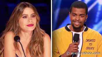 Sofia Vergara Gets Emotional After 'AGT' Contestant Reveals Sad Meaning of Poem - Yahoo Entertainment