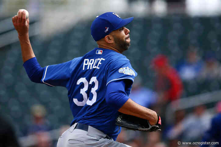 Dodgers' David Price opts out of playing in 2020