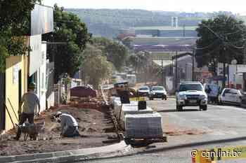 Obra de revitalização na Avenida Papagaios levará mais acessibilidade à região - CGN