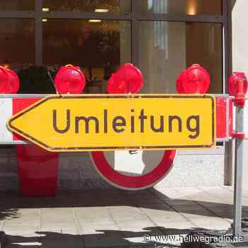 Straßensperrung zwischen Rüthen und Bestwig - Hellweg Radio