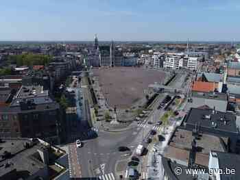 Grote Markt afgesloten voor montagekraan - Gazet van Antwerpen