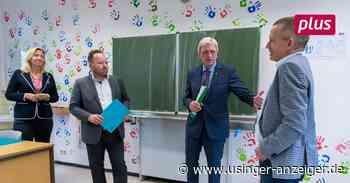 Ministerpräsident besucht Niemöller-Schule in Riedstadt - Usinger Anzeiger