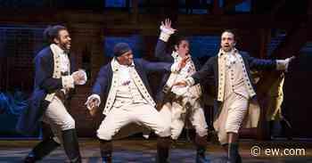 Celebrities recall seeing Hamilton live as movie hits Disney+ - Entertainment Weekly