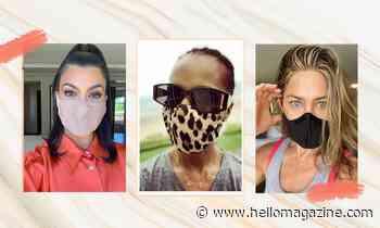 Celebrities wearing face masks: From Jennifer Aniston to Kourtney Kardashian - HELLO!
