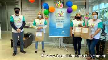 Coopera comemora Dia do Cooperativismo com doação de máscaras - Forquilhinha Notícias