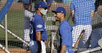 Hernández: Focus for Dodgers and Angels on first day of training is safety, not World Series