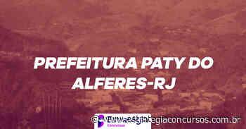 Concurso Paty do Alferes: cronograma é... - Estratégia Concursos
