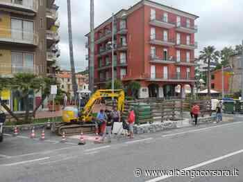 Stop agli allagamenti: ad Andora lavori di regimentazione delle acque bianche - AlbengaCorsara News