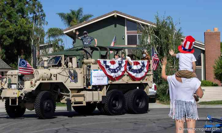 Orange County celebrates a socially distanced Fourth of July
