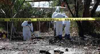 Localizan 86 bolsas con restos humanos en Santa Anita - Partidero