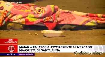 Santa Anita: joven comerciante es asesinado de un balazo - El Comercio Perú