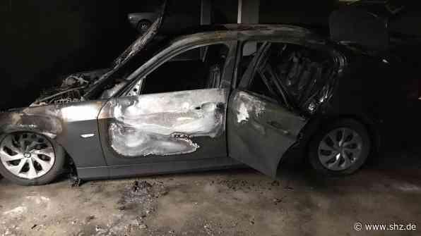 38 Bewohner evakuiert: Brand in der Tiefgarage des Ostlandhauses in Rendsburg zerstört zwei Autos | shz.de - shz.de