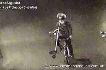 Don Torcuato: Robó y huyó en bicicleta, fue detectado por las cámaras de Tigre - elcomercioonline.com.ar