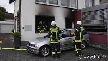 Wohnungsbrand in Lennestadt: Junge (6) zündet Bettdecke an - BILD