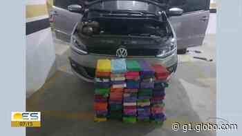 PF apreende carro com mais de 80 kg de cocaína em Guarapari, no ES - G1