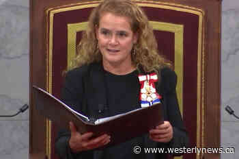 Gov. General honours Canadians for bravery, volunteer service - Westerly News