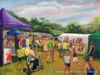 Thornbury artist shares work to keep carnival spirit alive - South Cotswolds Gazette